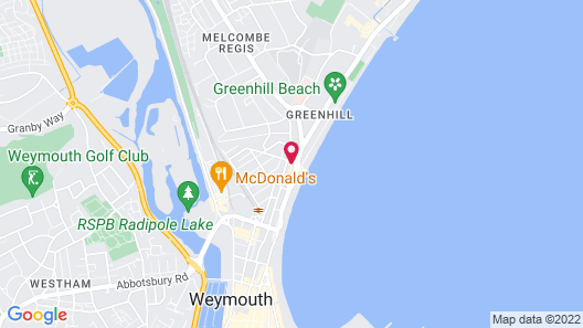 The Richmoor Hotel Map