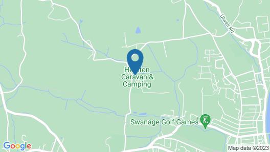 Herston Caravan & Campsite Map