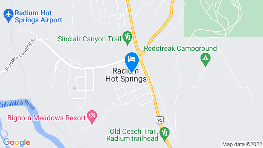 The Piccadilly Motel Map