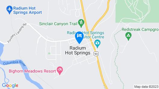Inn on Canyon Map