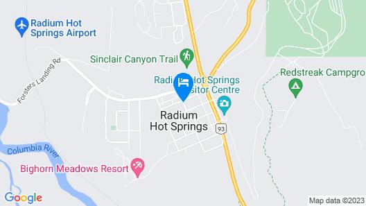 Crystal Springs Motel Map