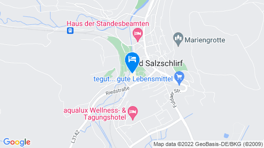 Hotel Badehof Map