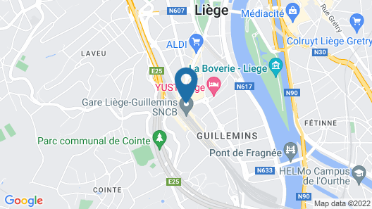 Hotel de la Couronne Map