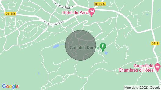 Studio - Neufchâtel-Hardelot Map