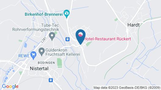 Hotel Rückert Map