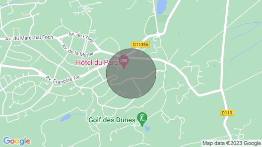 Appartement Cosy à Hardelot Map