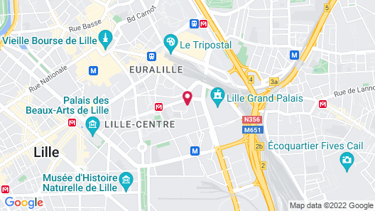Ibis Lille Centre Grand Palais Map