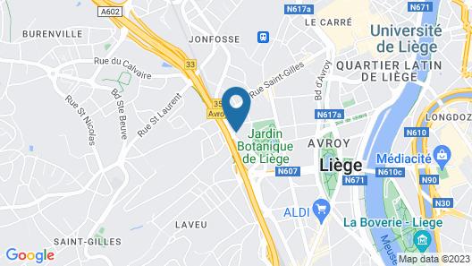 Red & Breakfast Map