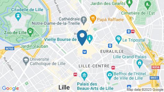 Grand Hotel Bellevue Map