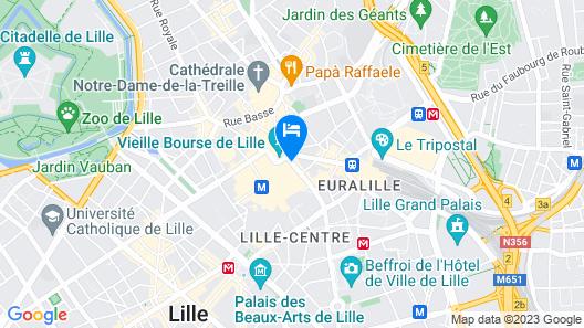 Hotel Carlton Map