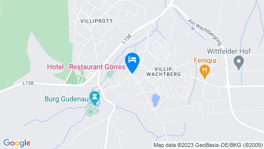 Hotel-Restaurant Görres Map