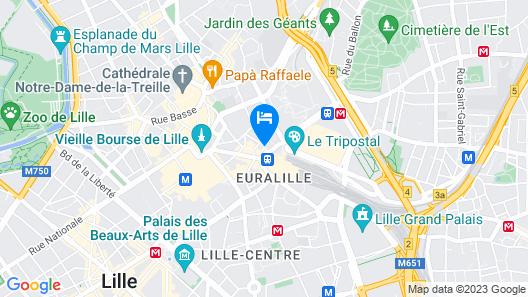 CALM Appart' & Hostel Map