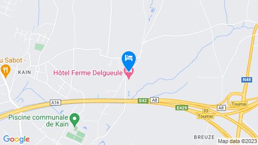 La Ferme Delgueule Map
