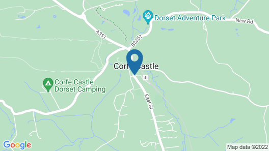 Bankes Arms Hotel Map