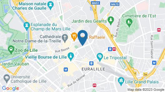Hotel l'Arbre Voyageur, BW Premier Collection Map