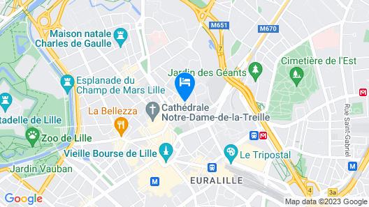 Hôtel Mercure Lille Centre Vieux Lille Map