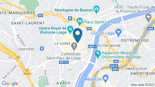 Smartflats Design - Cathédrale Map