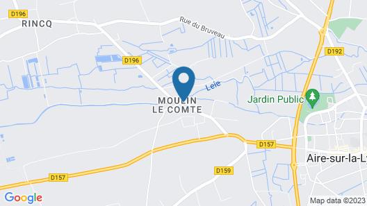 Château de Moulin le Comte Map
