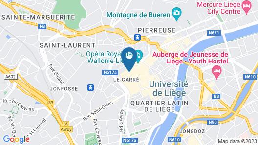Smartflats City - Saint-Adalbert Map