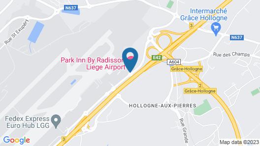 Park Inn by Radisson Liege Airport Map