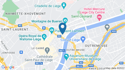 Hotel Neuvice Map