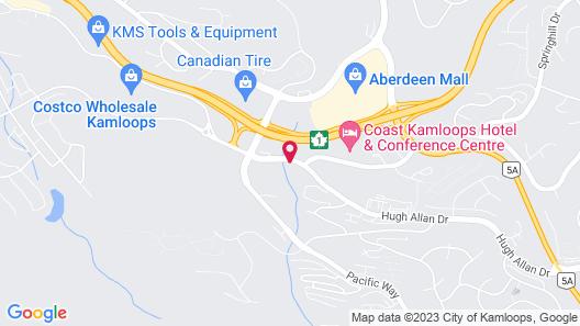 Alpine Motel Map