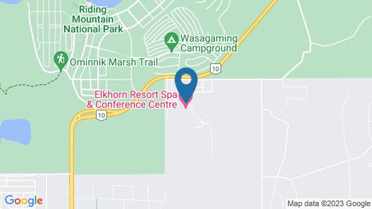 Elkhorn Resort, Spa, & Conference Centre Map
