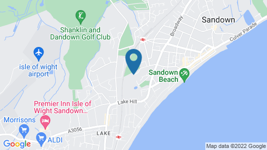 The Broadway Park Hotel Map