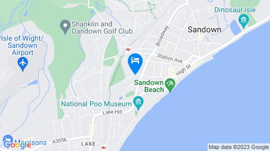 Eden Spa Hotel Map