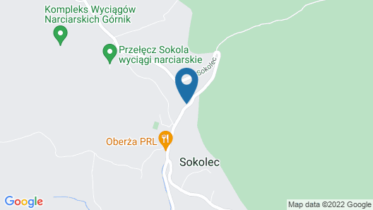 Pensjonat Sokolec Map