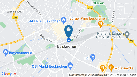 Welcome Parkhotel Euskirchen Map