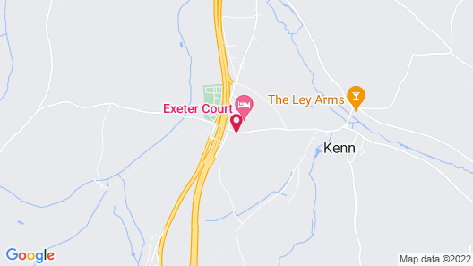 Exeter Court Hotel Map