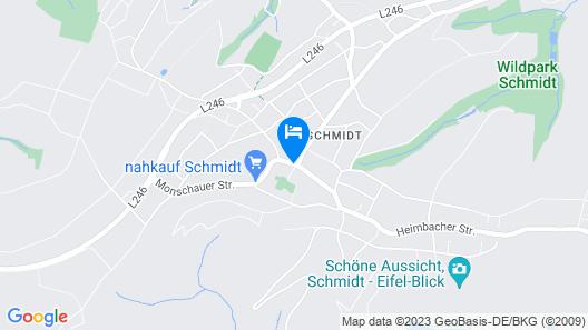 Hotel Roeb Map