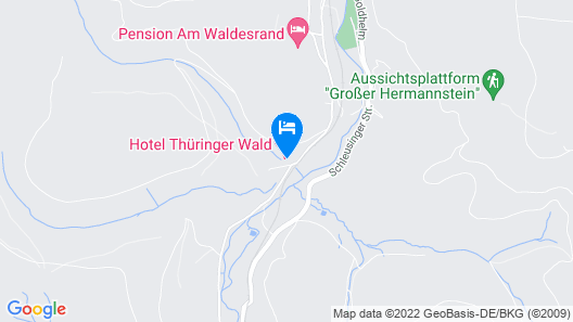 Hotel Thüringer Wald Map
