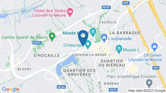 Martin's Louvain-la-Neuve Map