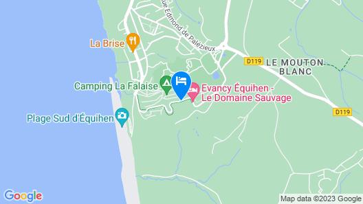 Evancy Hardelot – Equihen Map
