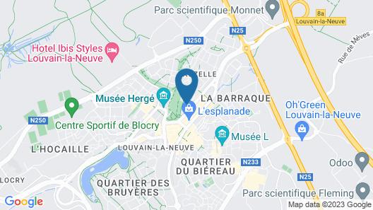 Gite Mozaik Map