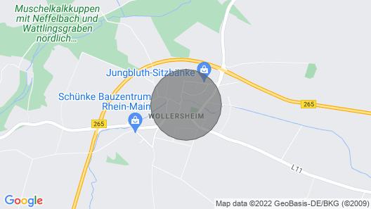NI01 Apartment Nideggen Map
