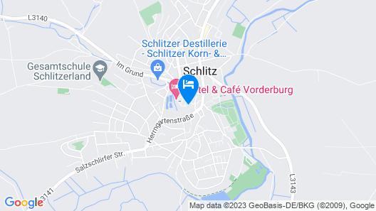 Hotel Schachtenburg Map