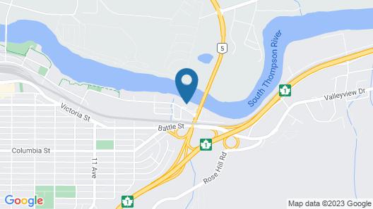 Riverland Inn & Suites Map