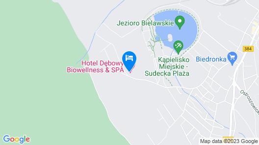 Hotel Dębowy Biowellness & SPA Map