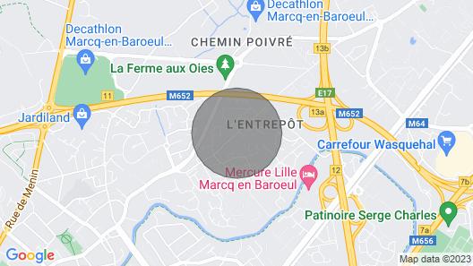 Quiet House With Garden in Marcq-en-baroeul, 10 min From Lille - Welkeys Map
