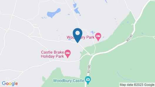Woodbury Park Hotel and Golf Club Map