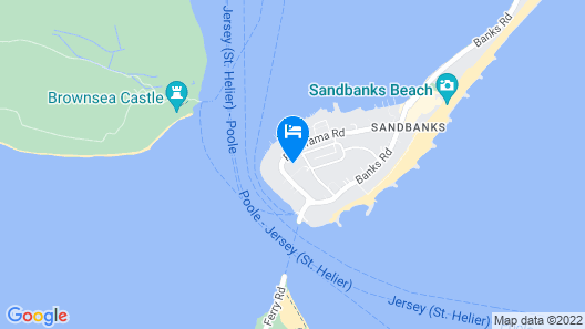 Seascapes Sandbanks Map