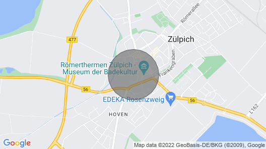 Z01 Holiday home in Zülpich Map