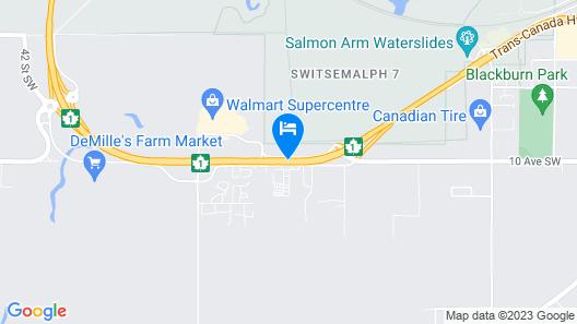 Travelodge by Wyndham Salmon Arm Map