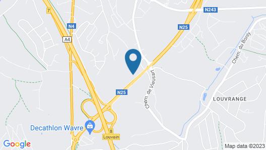 Domaine du Blé Hôtel Map