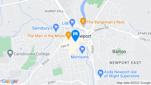 Charter House Map