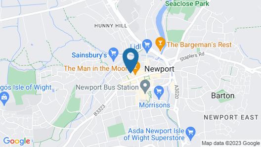 Hewitt's Restaurant & Rooms Map