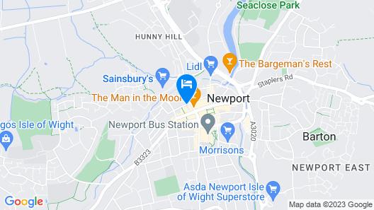 Hewitt's House Hotel Map